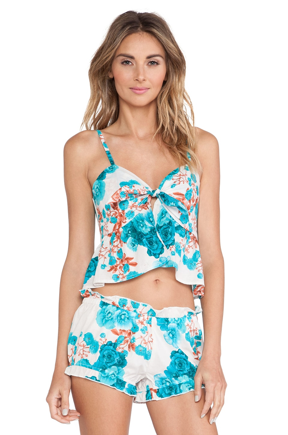 Le Salty Label Bleu Ivy Vacay Set in Blue
