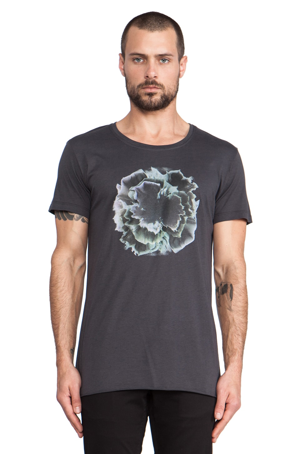 lot78 Lava Bomb T-Shirt in Anthracite