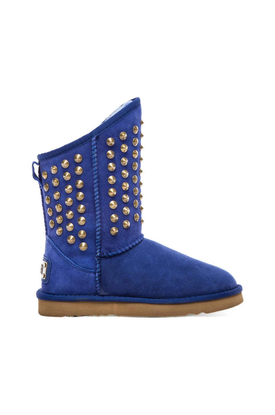 Australia Luxe Collective Pistol with Sheep Shearling in Cobalt