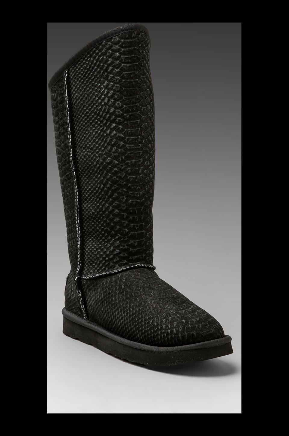 Australia Luxe Collective Cosy Tall Python Boot in Black
