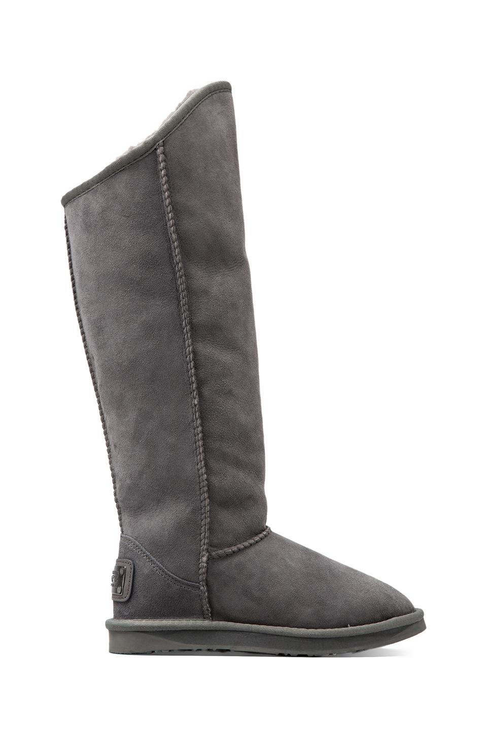 Australia Luxe Collective Cosy X-Tall Boot with Sheep Shearling in Grey