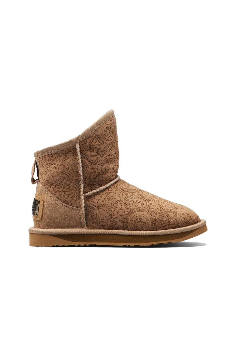 Australia Luxe Collective Cosy X-Short Boot with Sheep Shearling in Laser Sand