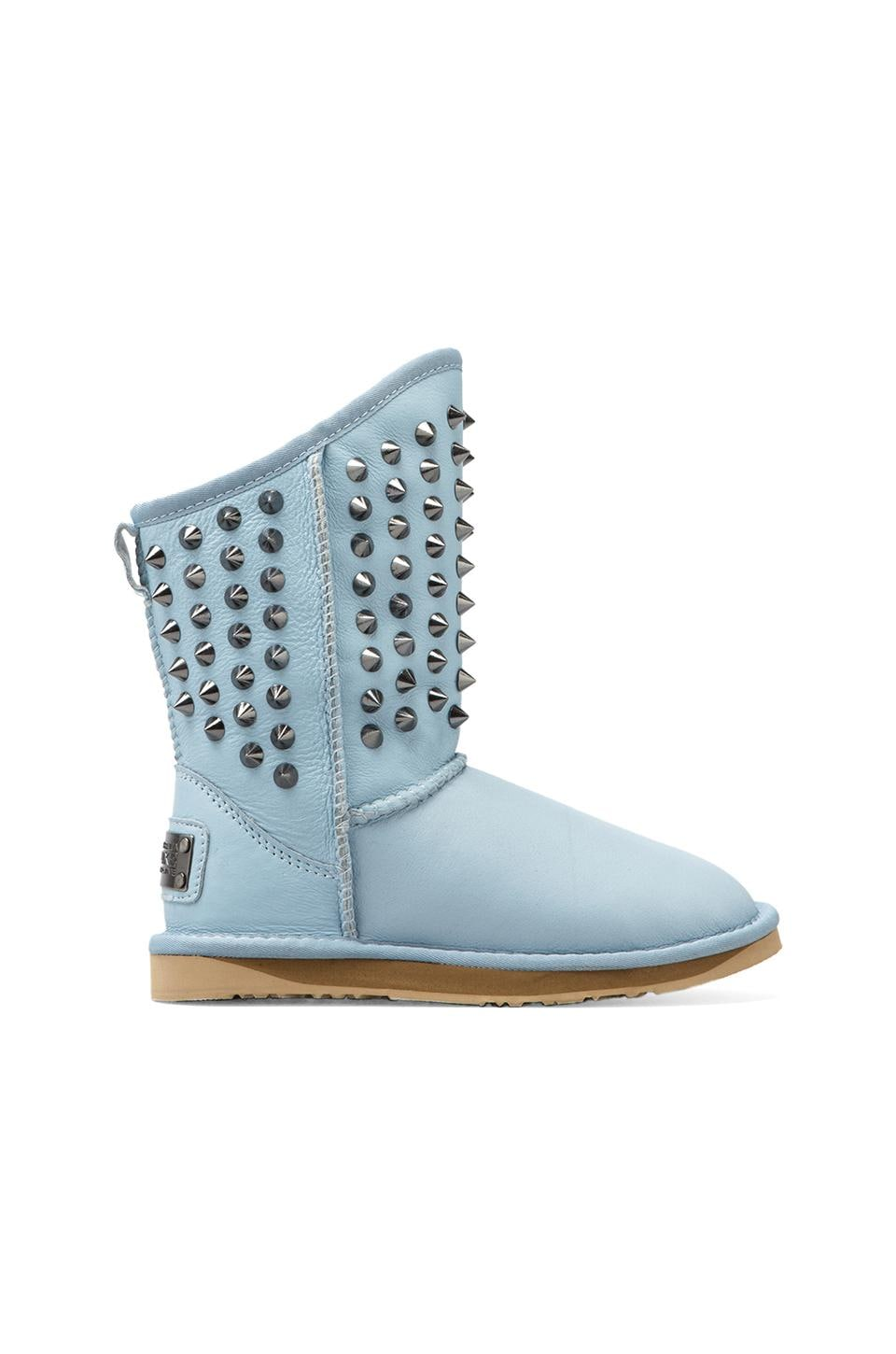 Australia Luxe Collective Pistol Boot with Sheepskin in Ice Blue