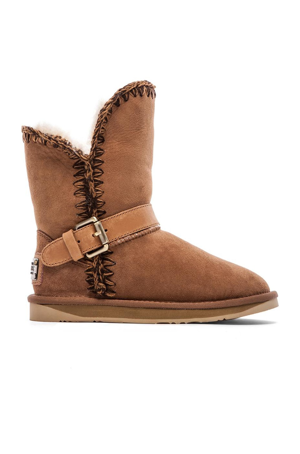 Australia Luxe Collective Dixie Boot in Chestnut