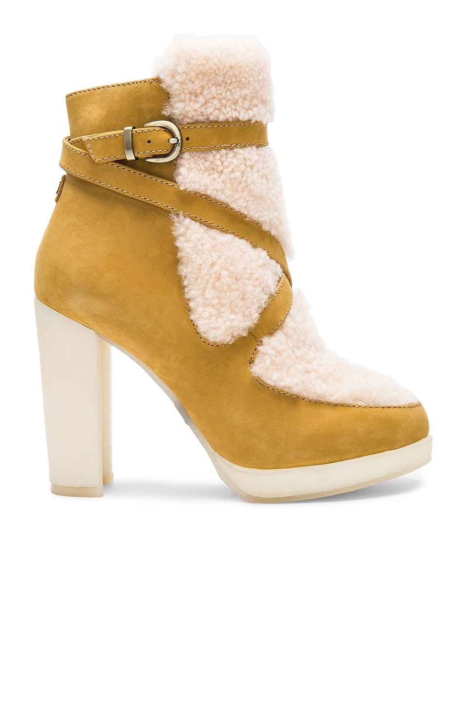 Mercy Shearling Heels by Australia Luxe Collective