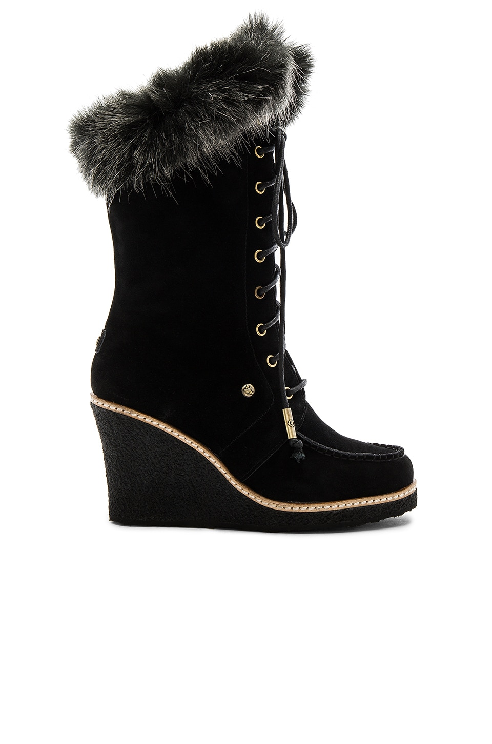 Mandinka Boot with Faux Fur Cuff by Australia Luxe Collective