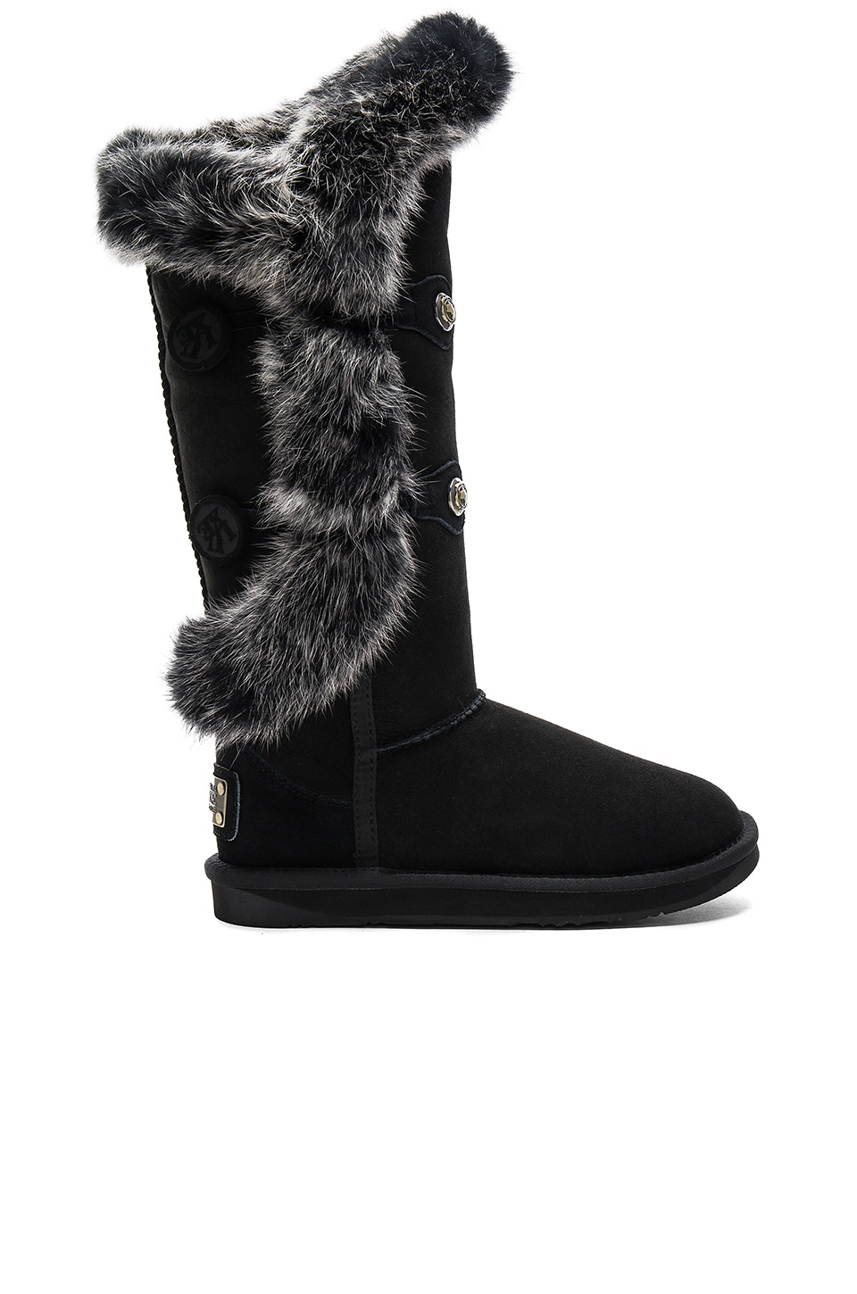 Nordic Angel X Tall Rabbit Fur and Shearling Boot by Australia Luxe Collective