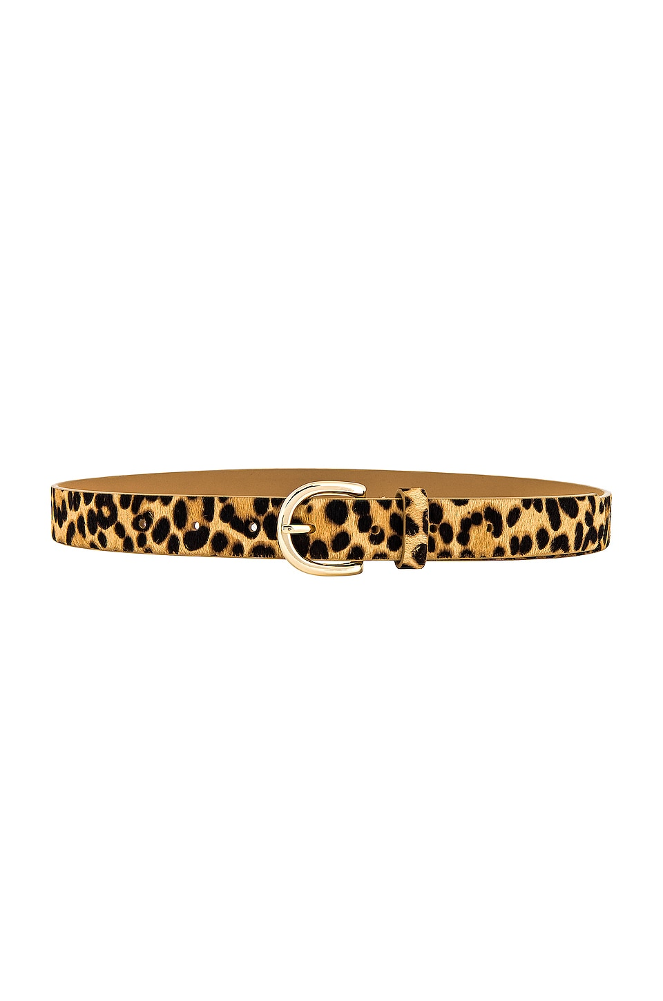 Lovers + Friends Caruso Belt in Tan Leopard