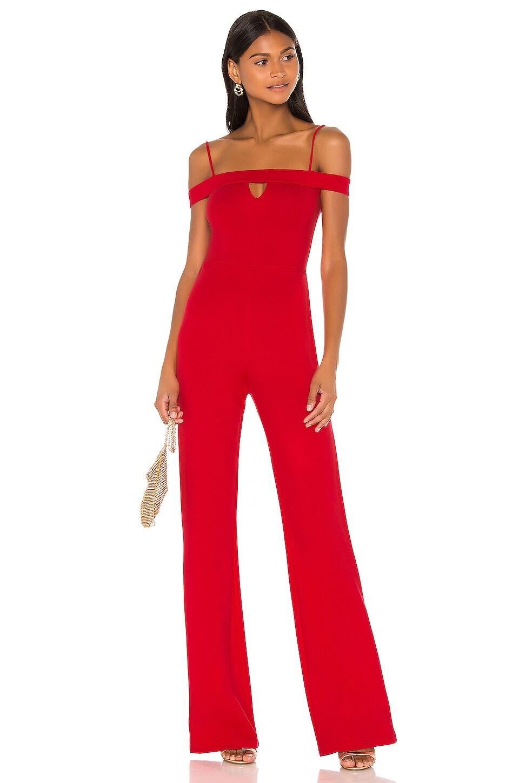 Lovers + Friends Gwyneth Jumpsuit en Red