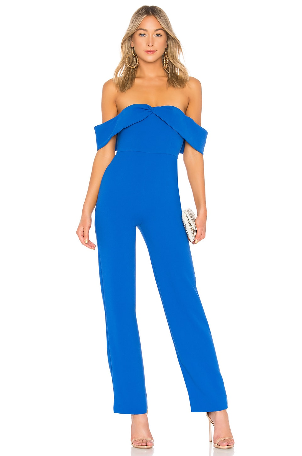 Lovers + Friends JUMPSUIT HOMBRO DESCUBIERTO DANICA