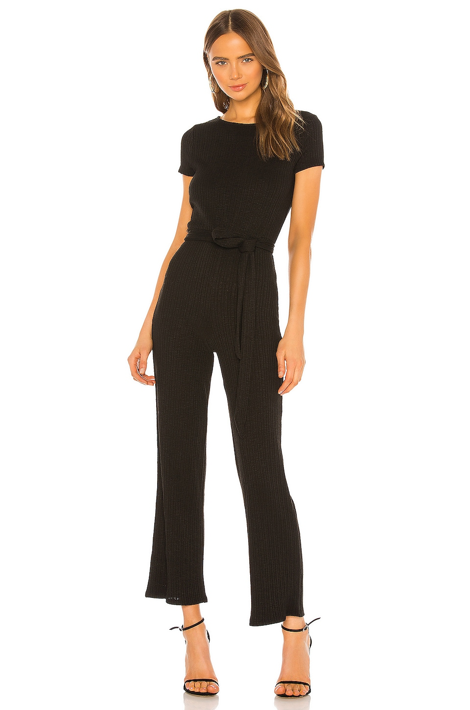 Lovers + Friends Lulu Jumpsuit in Black