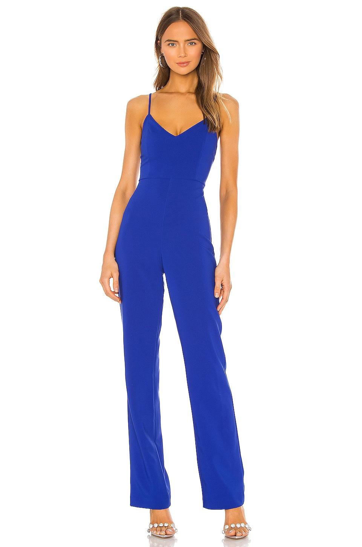 Lovers + Friends Monroe Jumpsuit in Cobalt Blue