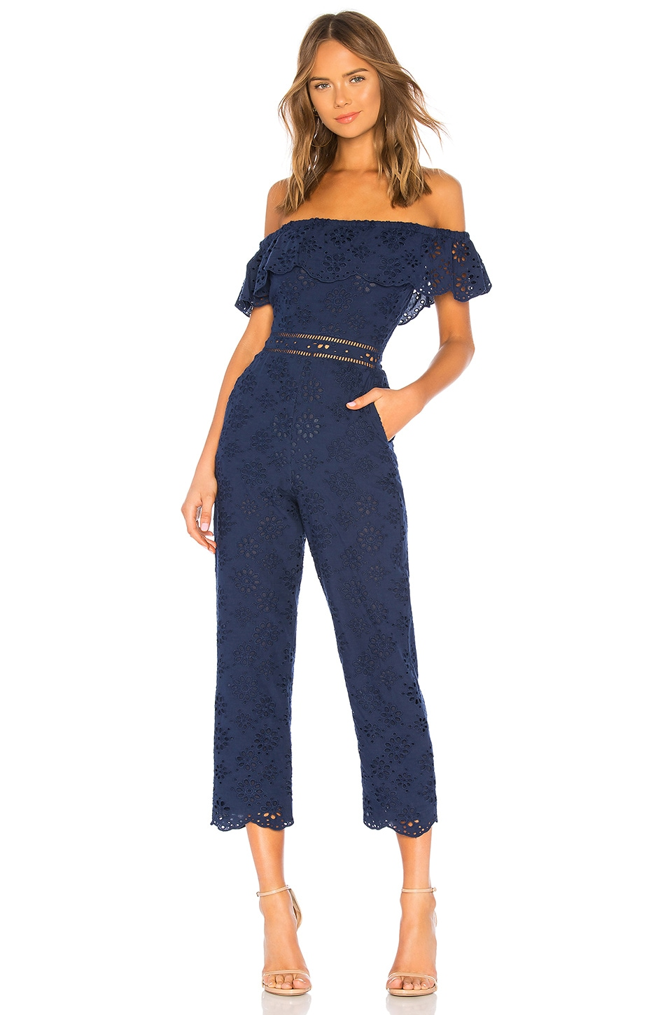 Lovers + Friends Naya Jumpsuit in Deep Navy