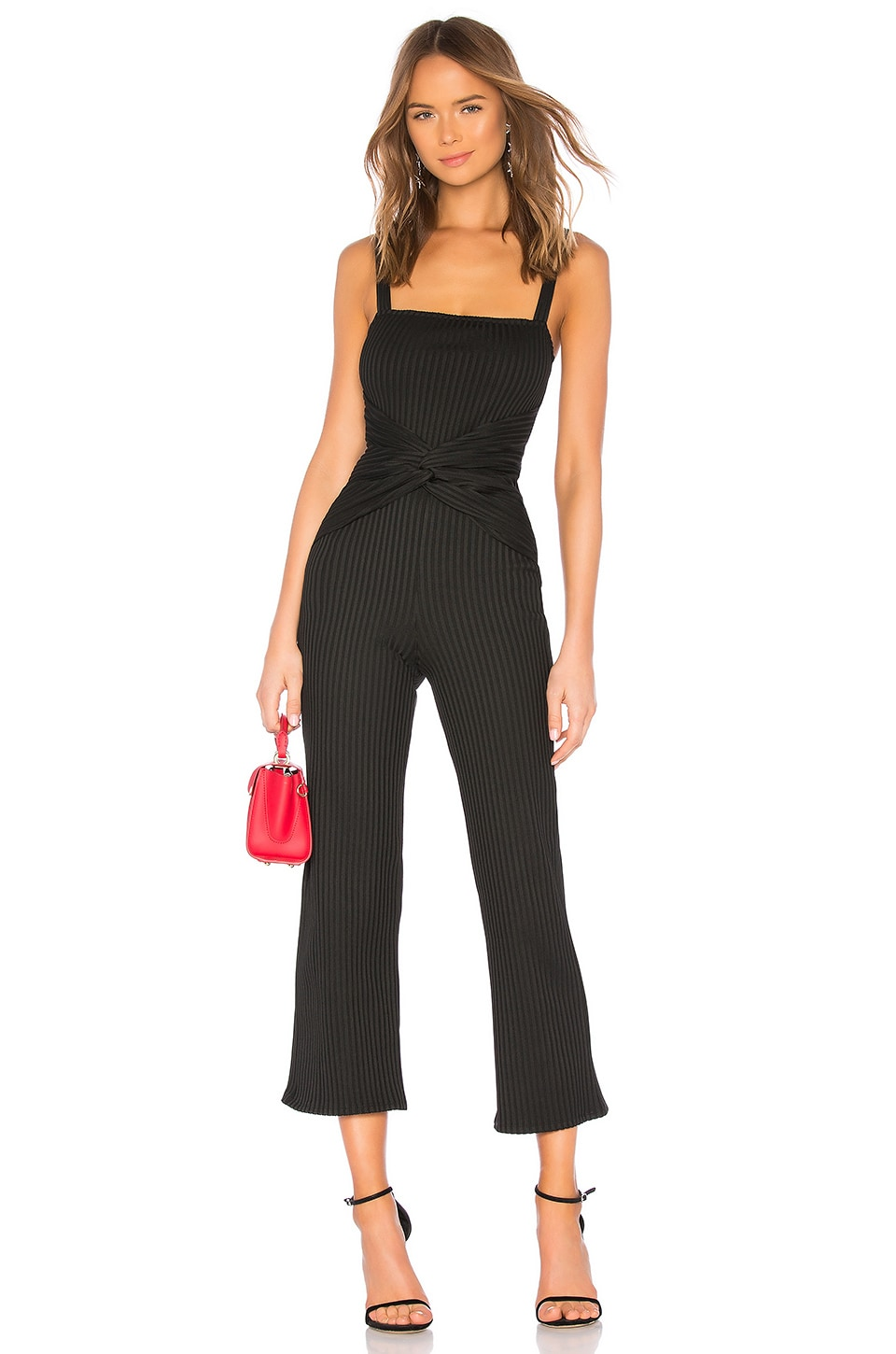 Lovers + Friends Sophie Jumpsuit in Black