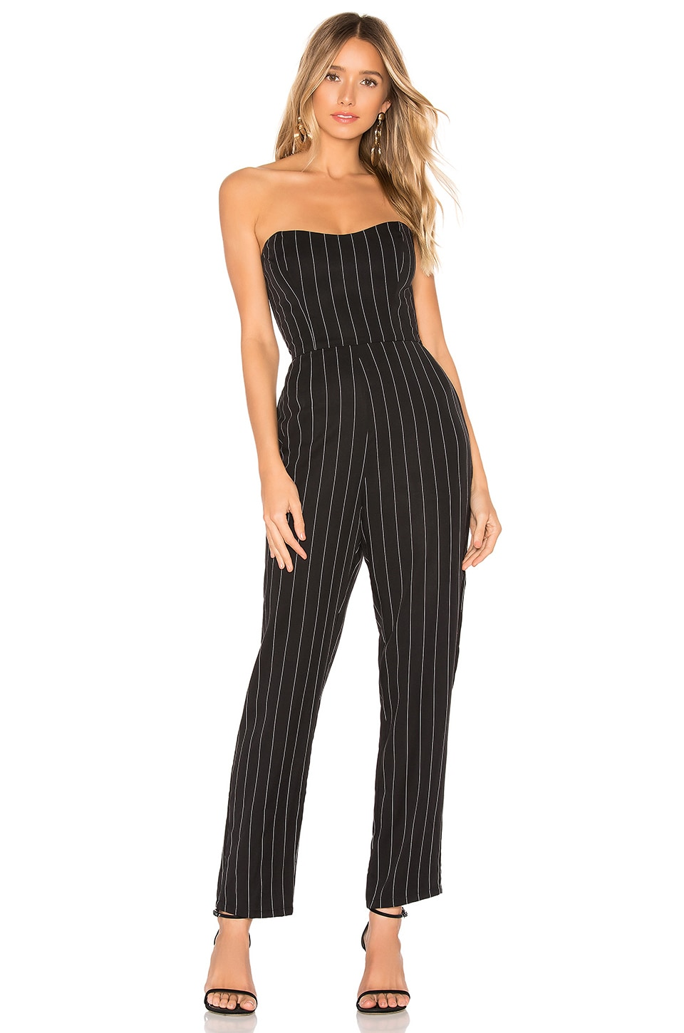 Lovers + Friends Cohen Jumpsuit in Black