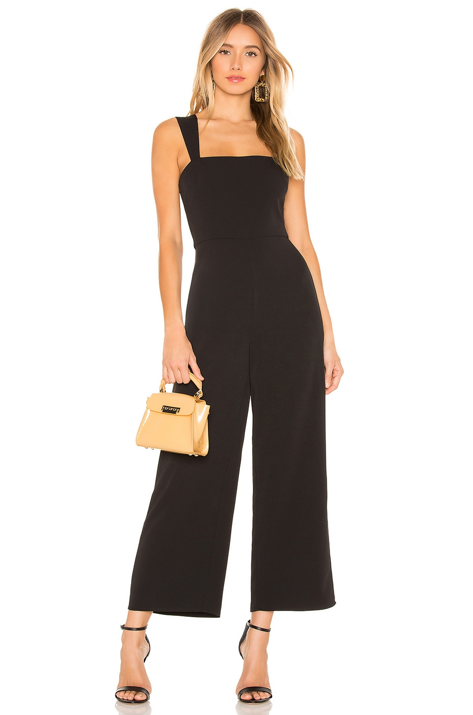 Lovers + Friends Milo Jumpsuit in Black