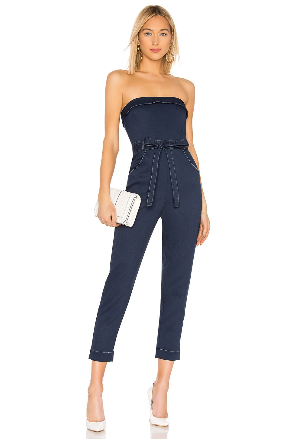 Lovers + Friends Coraline Jumpsuit in Navy