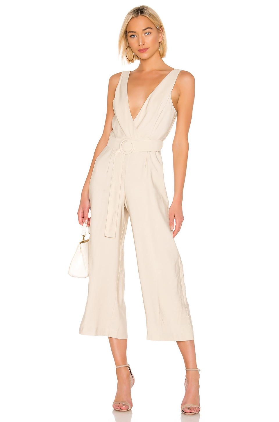 Lovers + Friends Zenzie Jumpsuit in Khaki