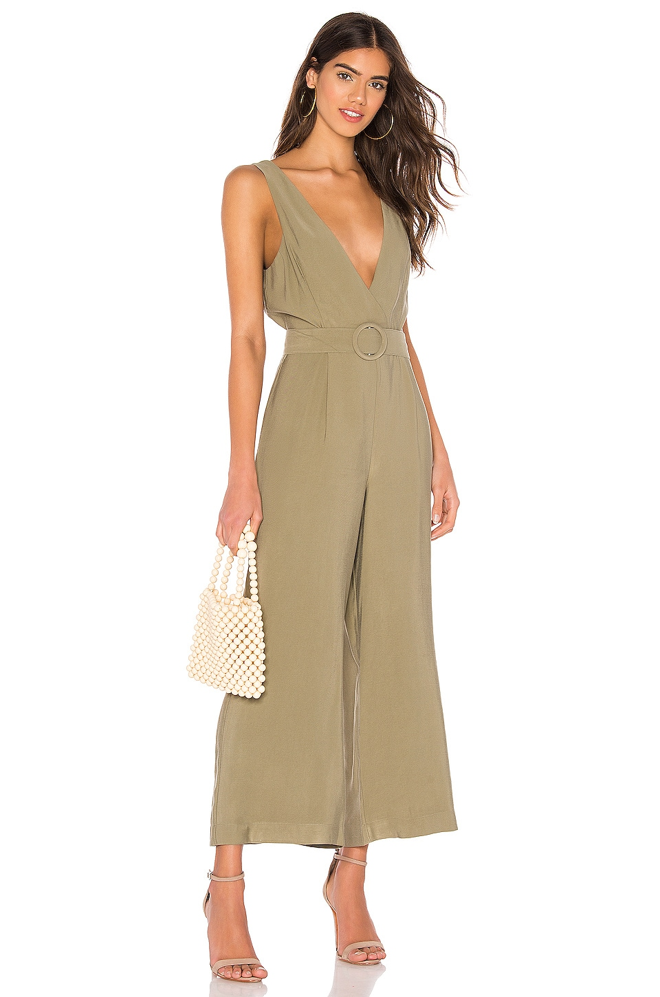 Lovers + Friends Zenzie Jumpsuit in Sage