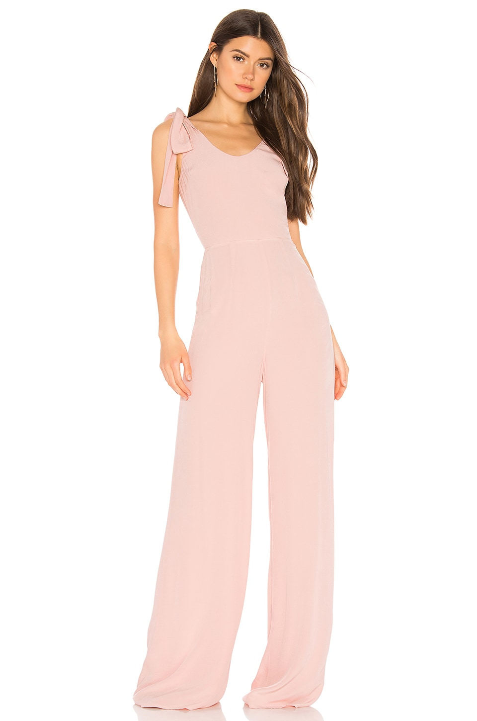 Lovers + Friends Janice Jumpsuit in Blush