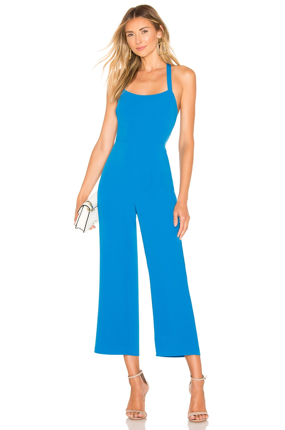 Lovers + Friends Ingrid Jumpsuit in Bright Blue