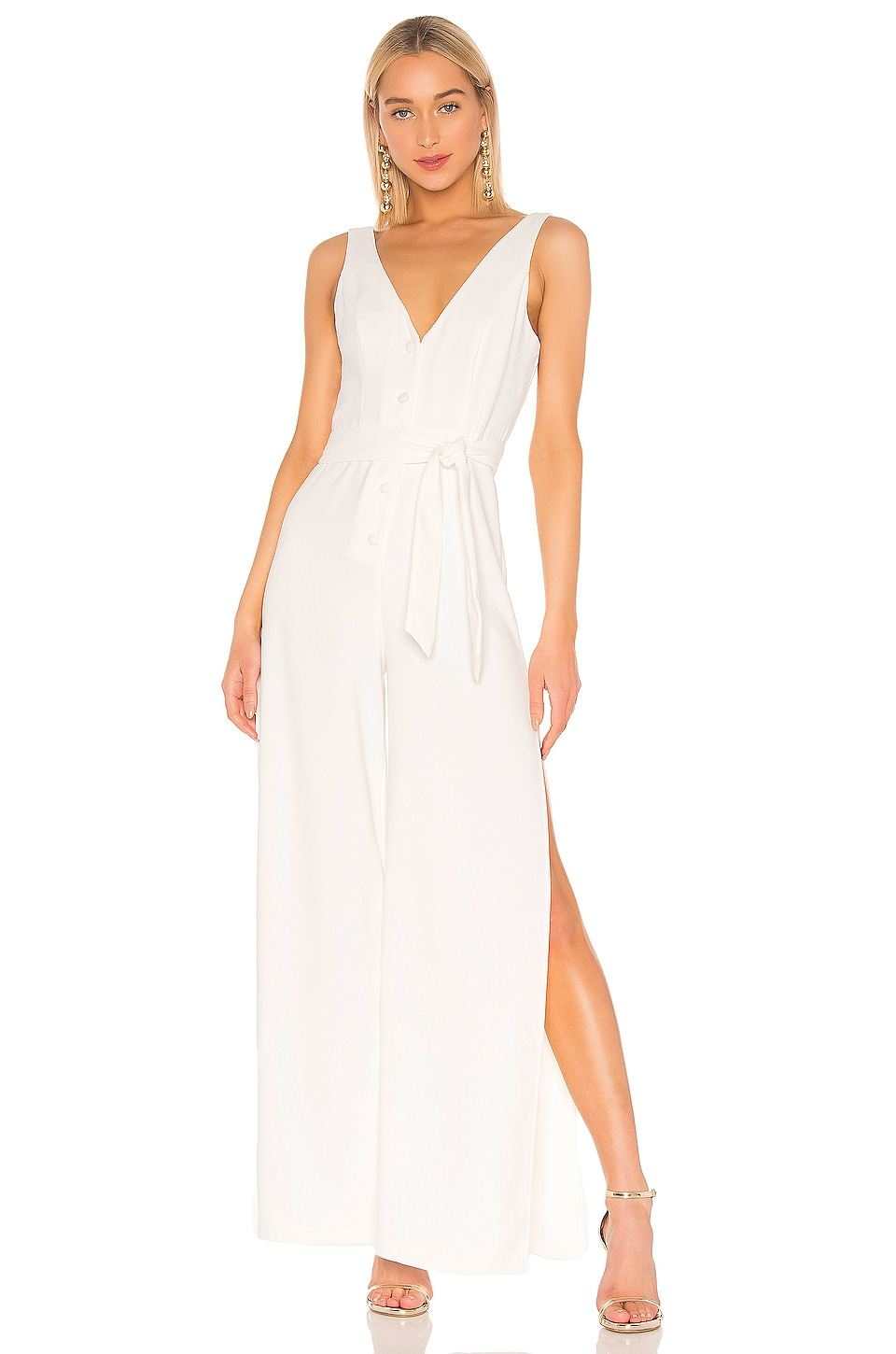 Lovers + Friends Halo Jumpsuit in White