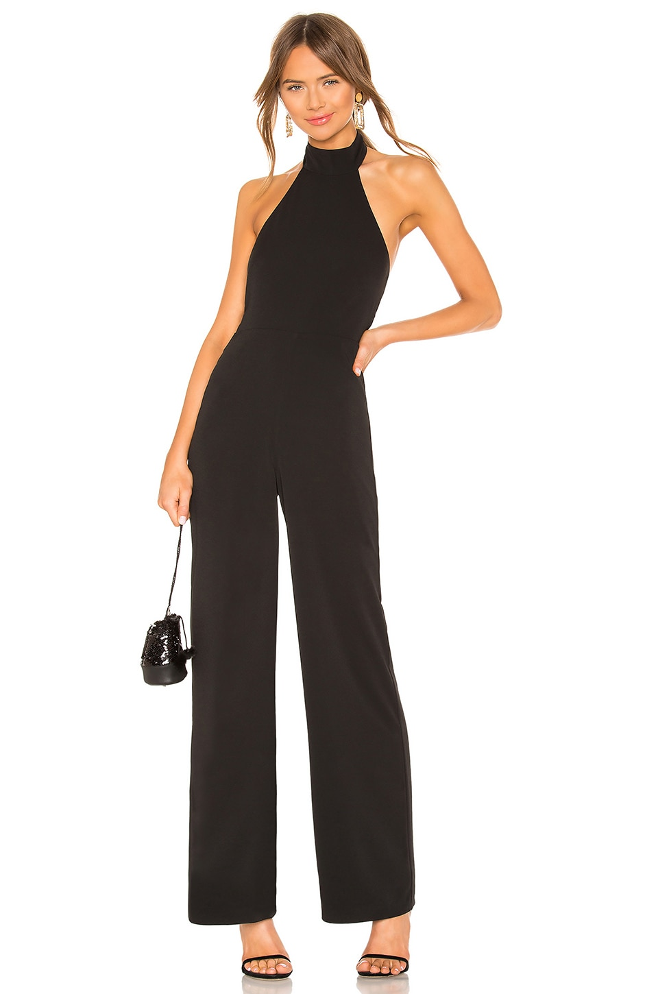 Lovers + Friends Heather Jumpsuit in Black