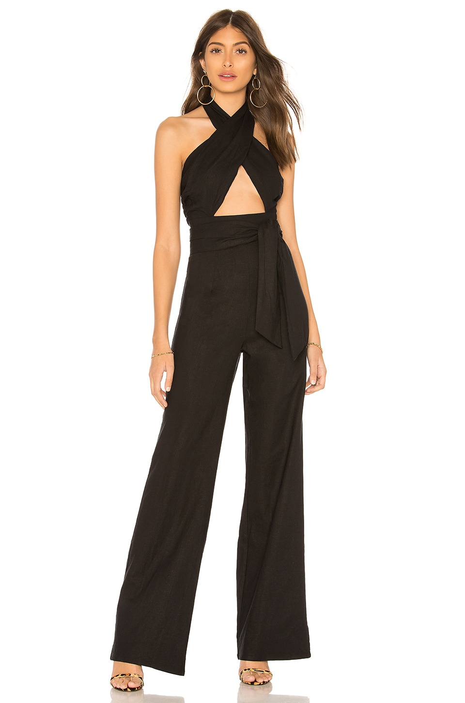 Lovers + Friends Lucy Jumpsuit in Night