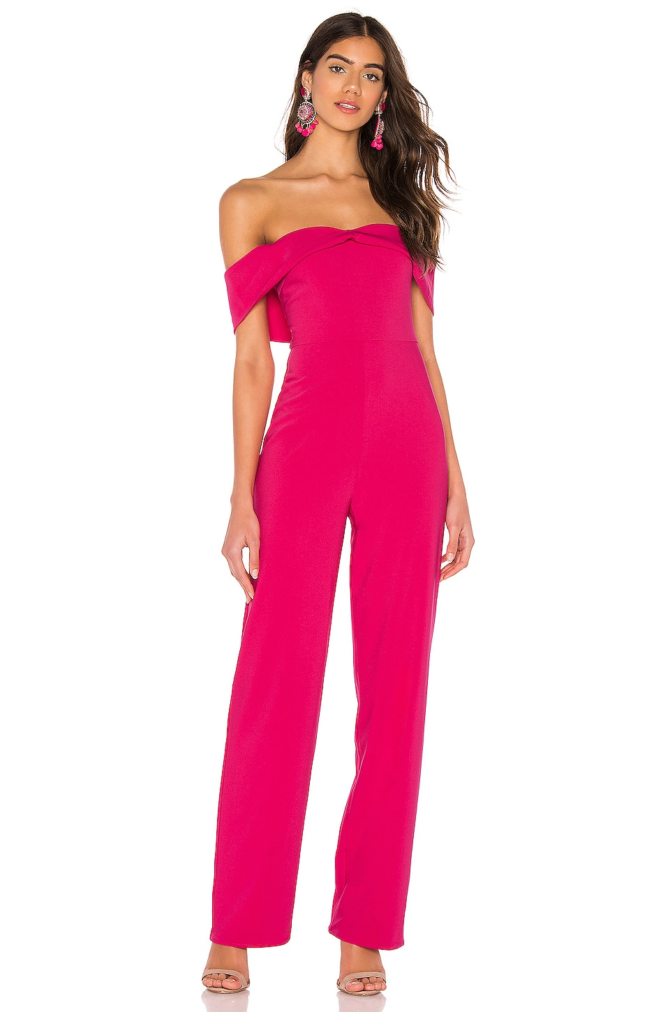 Lovers + Friends Danica Jumpsuit in Pink