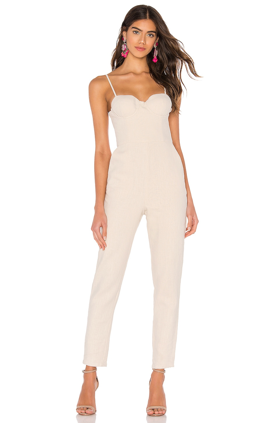 Lovers + Friends Ella Jumpsuit in French Vanilla