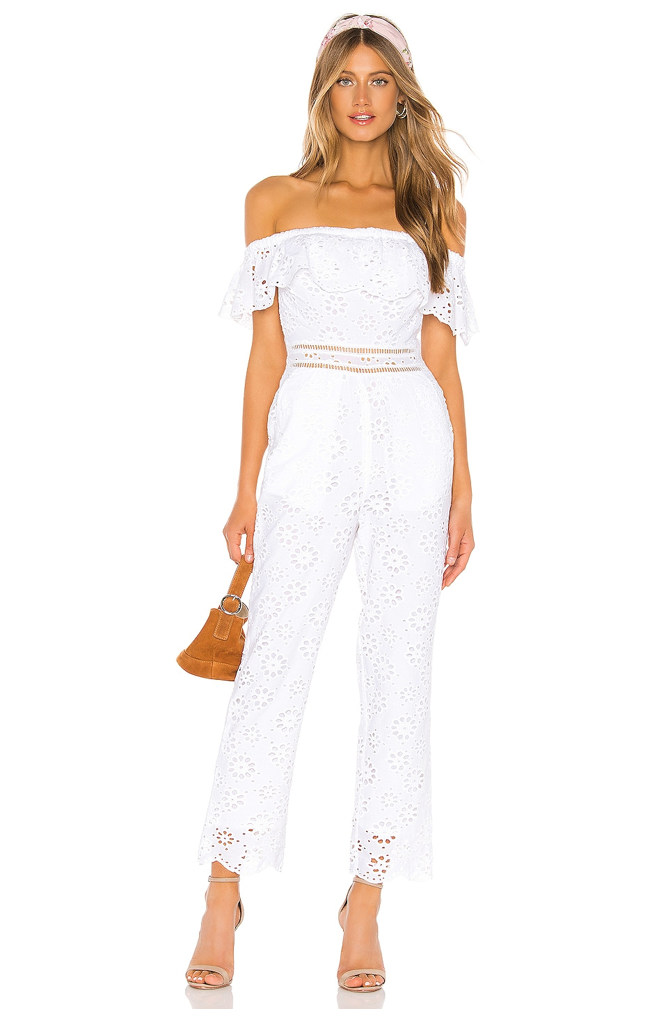Lovers + Friends Naya Jumpsuit in White