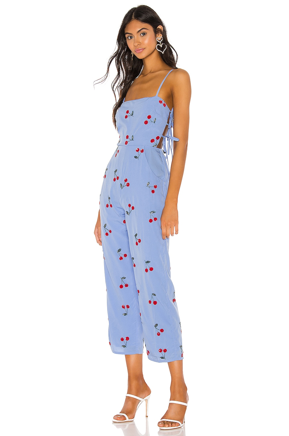 Lovers + Friends Analee Jumpsuit in Light Blue