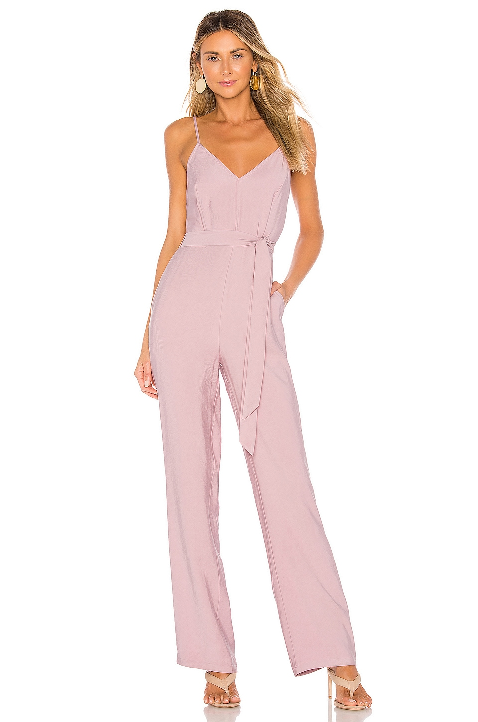 Lovers + Friends Jenny Jumpsuit in Lavender