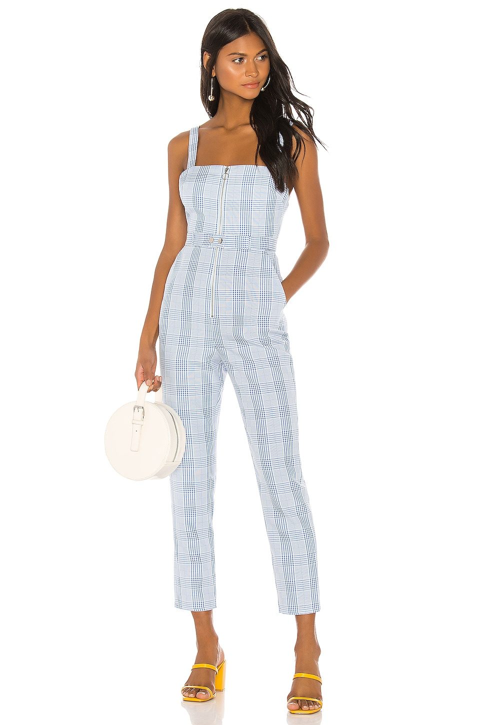 Lovers + Friends Aisha Jumpsuit in Baby Blue