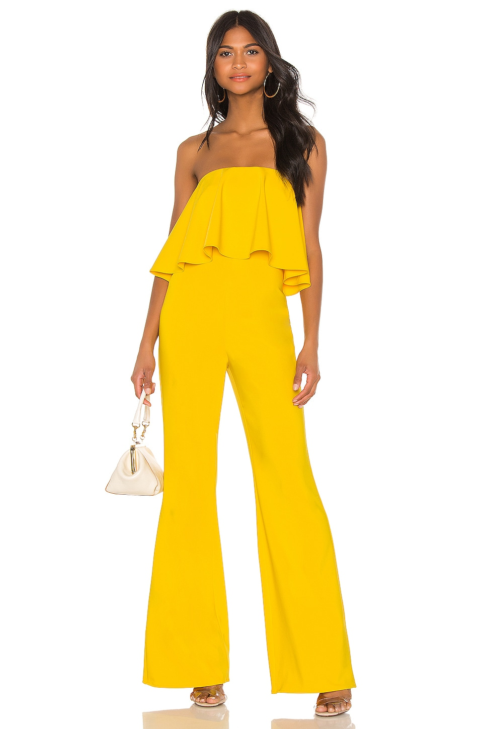 Lovers + Friends Nikki Jumpsuit in Yellow