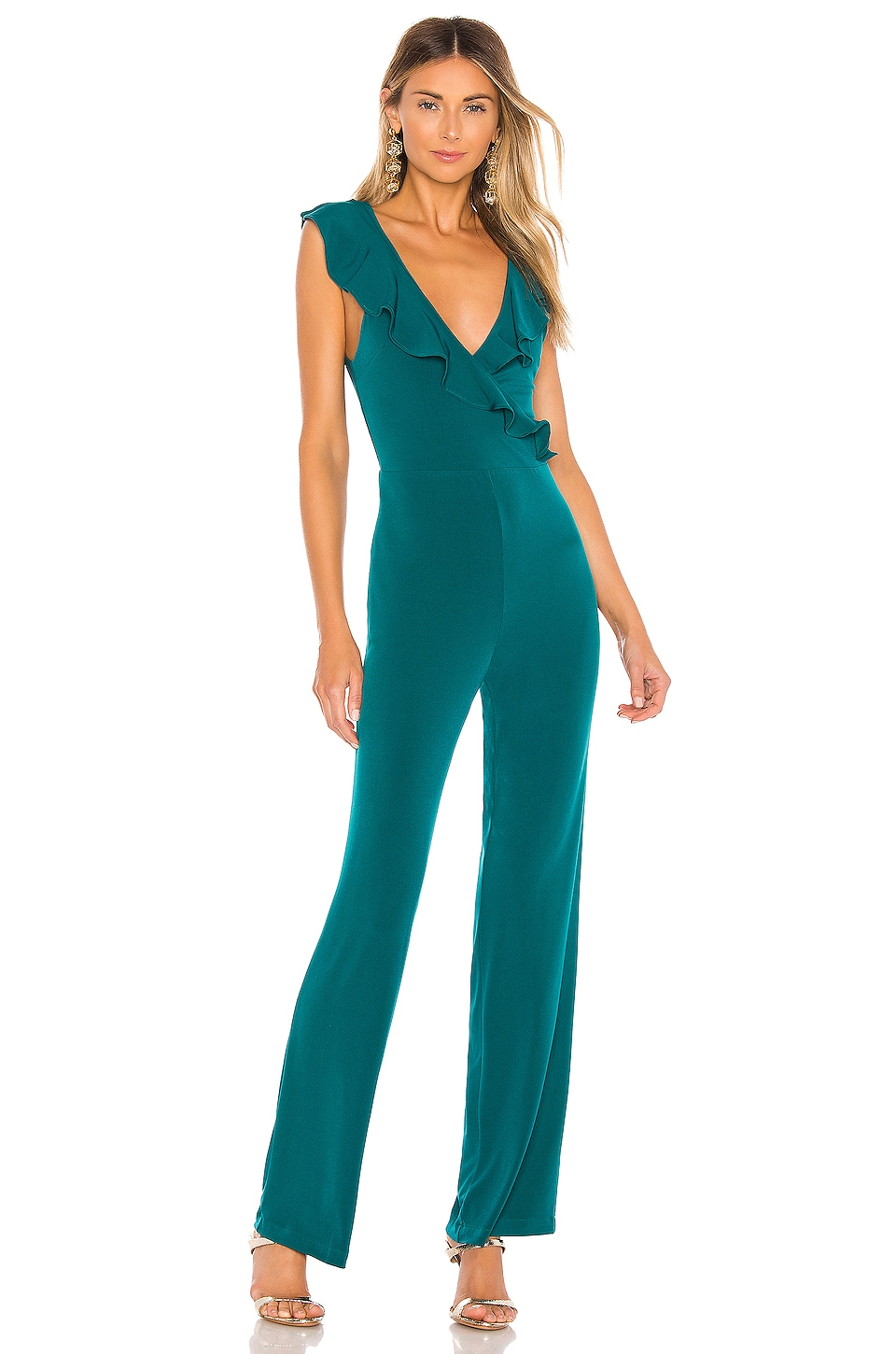 Lovers + Friends Keeley Jumpsuit in Teal