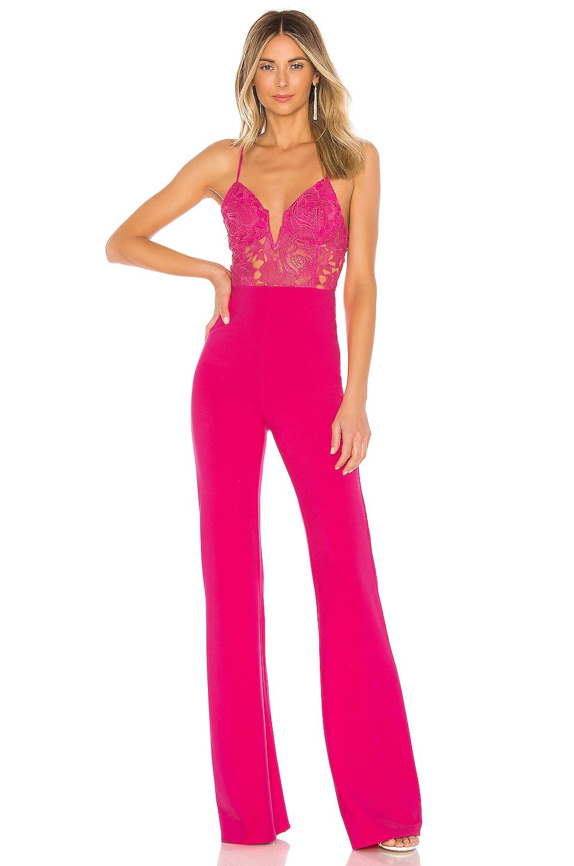 Lovers + Friends Roxy Jumpsuit in Hot Pink
