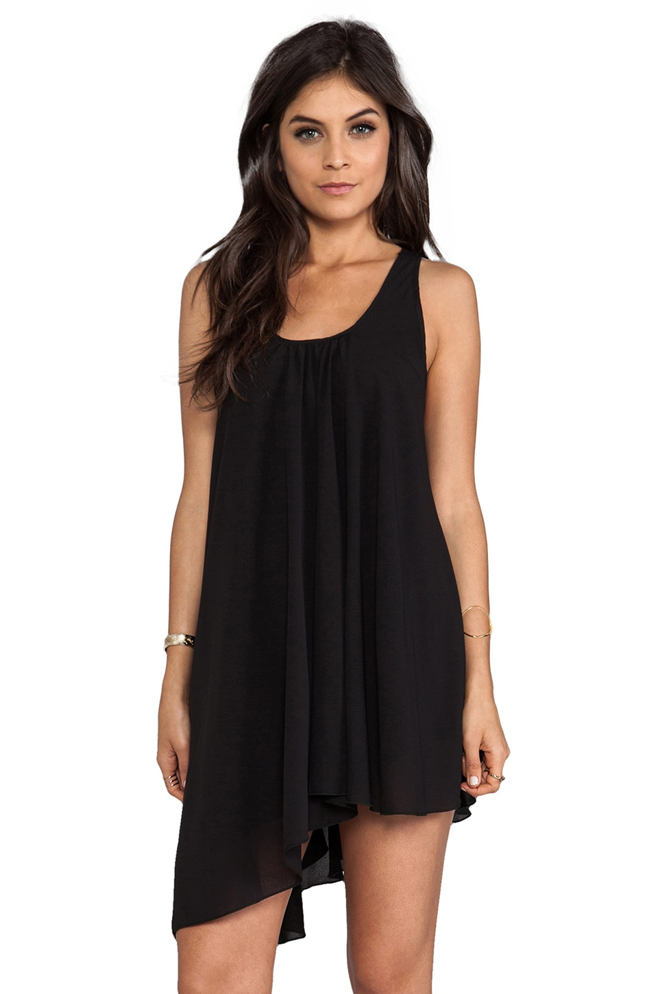 Lovers + Friends Love Potion Dress in Black