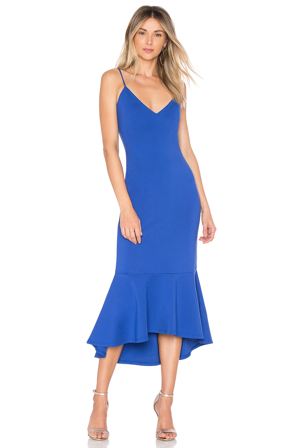 Lovers + Friends Keely Midi in Royal