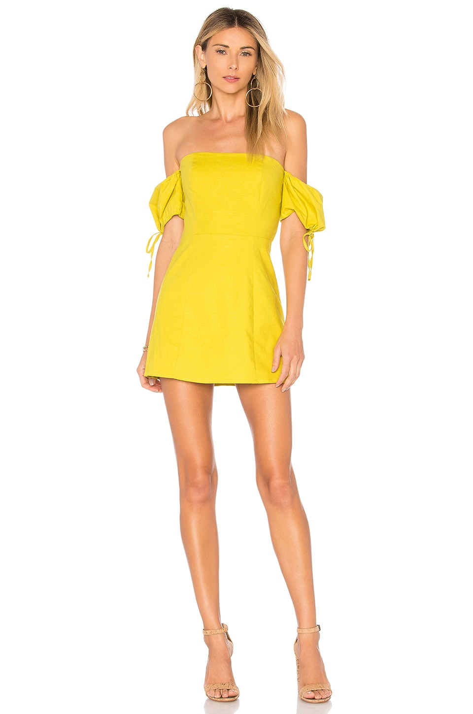 Lovers + Friends Anna Mae Dress in Lime