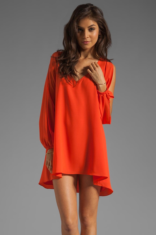 Lovers + Friends Gracie Dress in Tangerine