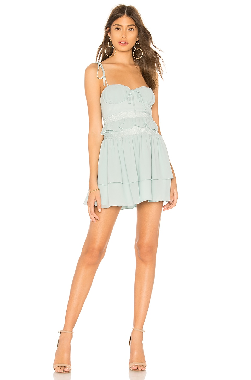 Lovers + Friends Seabrook Dress in Mist