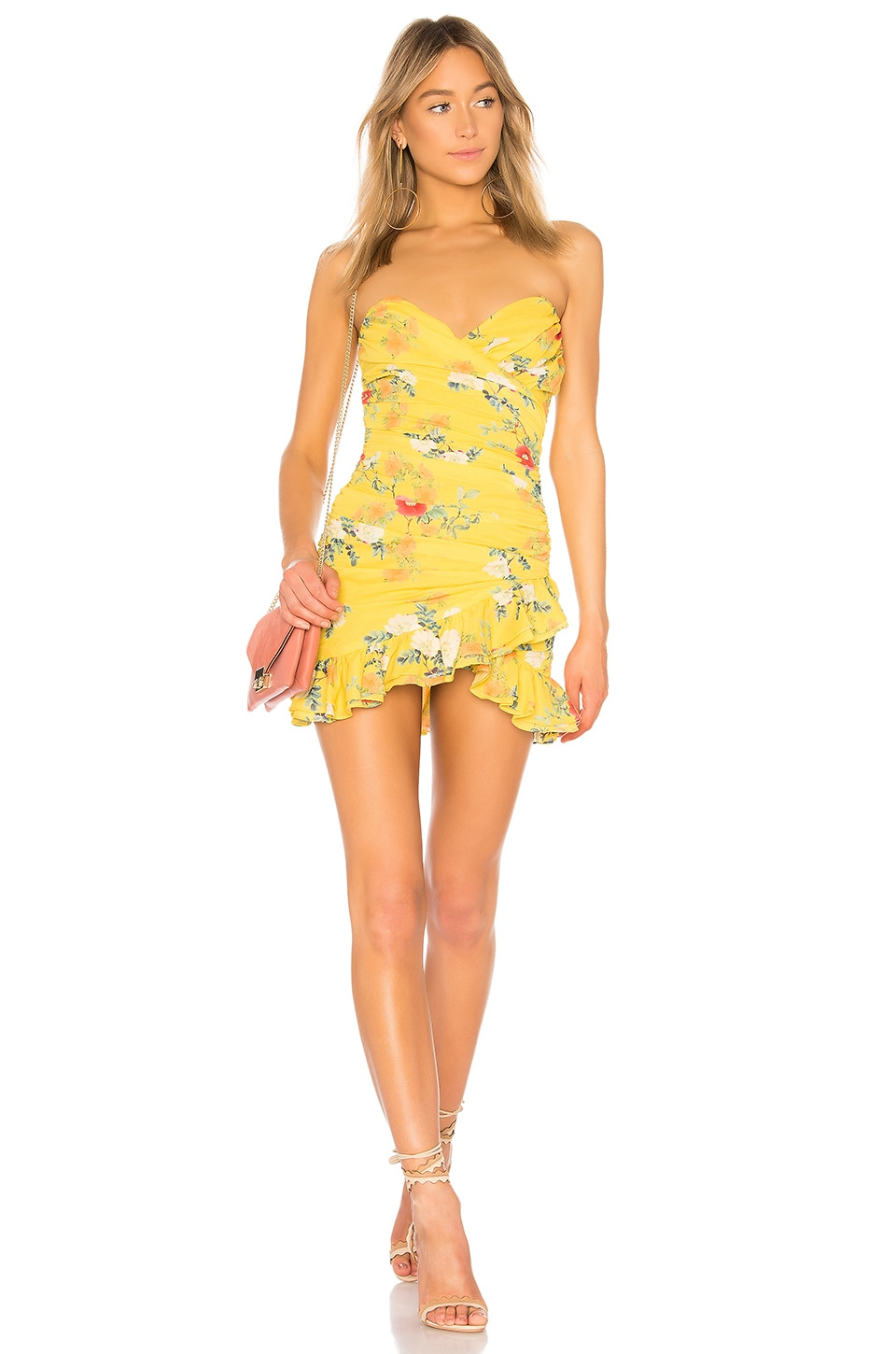 Lovers + Friends Casey Dress in Spring Blossom