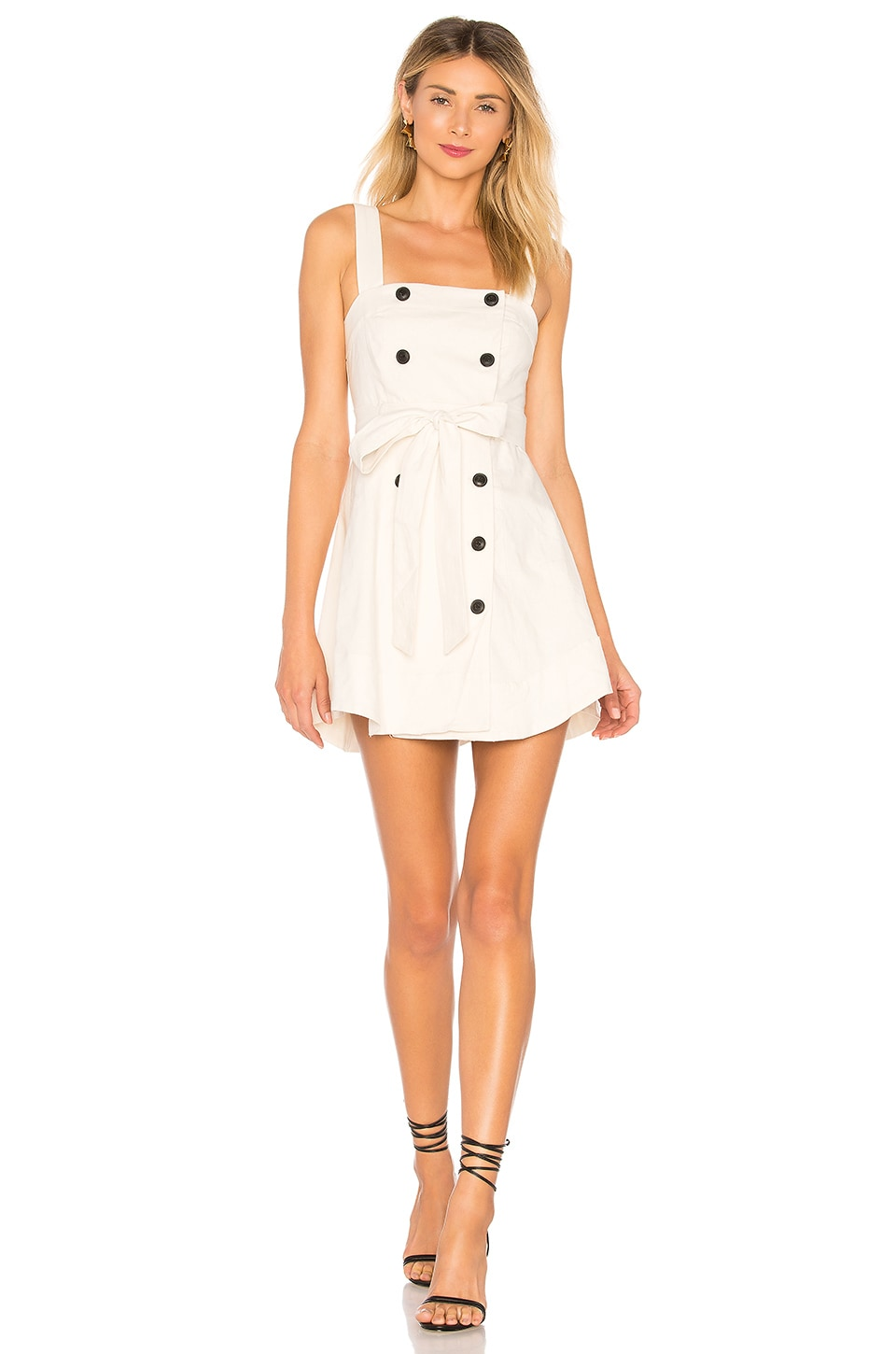 Lovers + Friends Rosanna Dress in Ivory