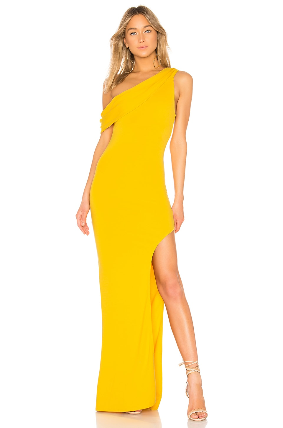 Lovers + Friends Marigold Gown in Marigold