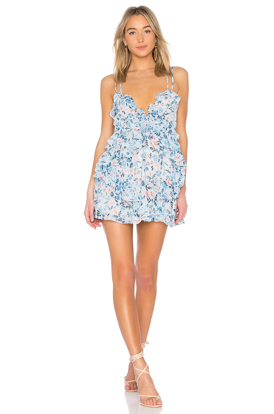 Lovers + Friends Rae Dress in Meadow Floral