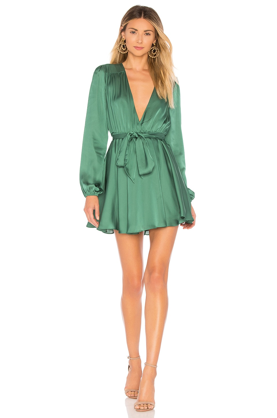 Lovers + Friends Ivy Dress in Green