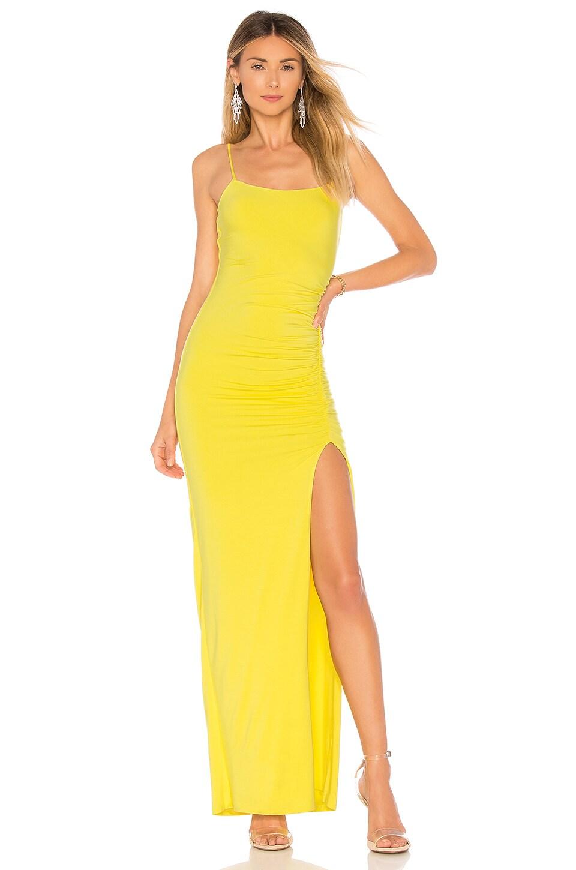 Lovers + Friends Kiki Maxi in Bright Yellow