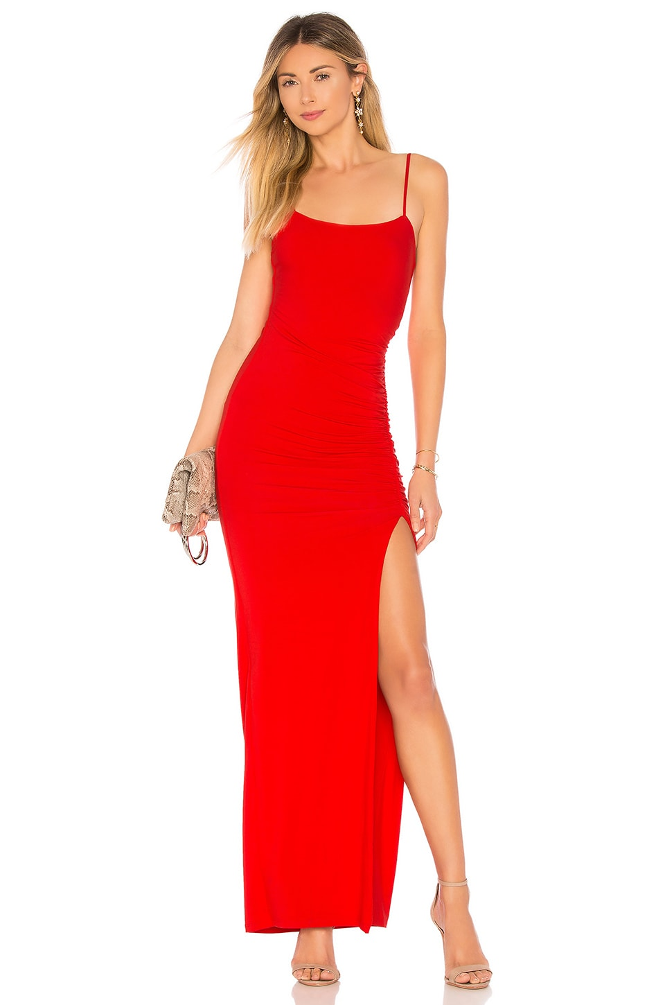 Lovers + Friends Kiki Maxi in Red