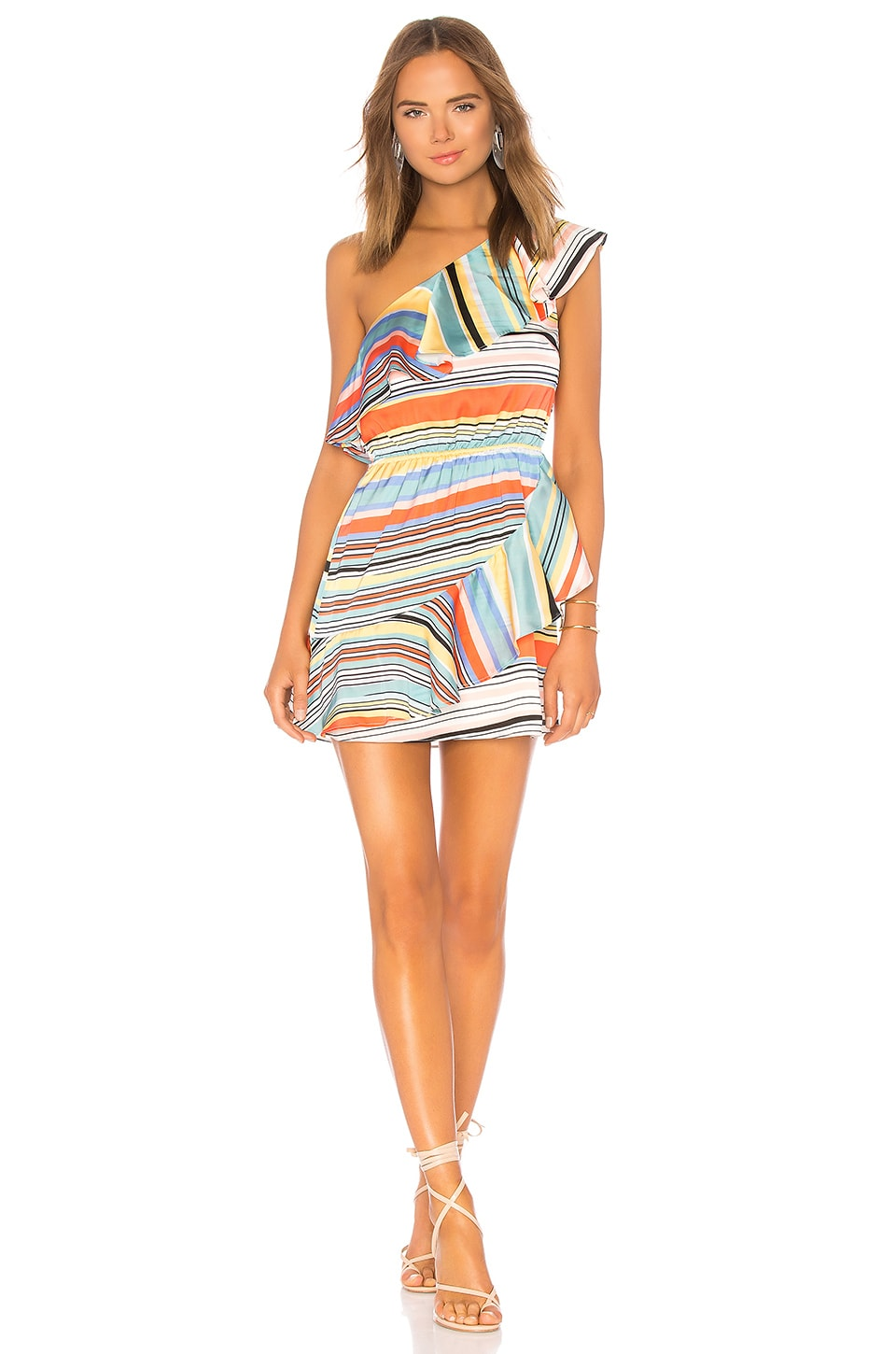 Lovers + Friends Pippa Dress in Aruba Stripe